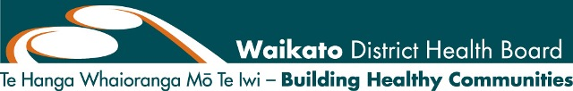 Waikato DHB logo vision